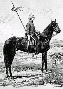 """North-West Mounted Police. An example of the many kinds of forces defending Her Majesty's empire, the NWMP were established in 1873 with the goal of bringing law and order over the Northwest Territories. Originally to be called Mounted Rifles, the name was changed to """"Police"""" to sound less martial. Despite the name, the unit was established along military lines, and operated as a military unit at times, notably during the Northwest Rebellion and the Battle of Duck Lake, 26 March, 1885."""