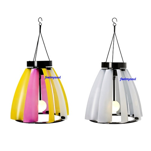 Ikea solar wind powered pendant lamp light lighting yard garden new ebay