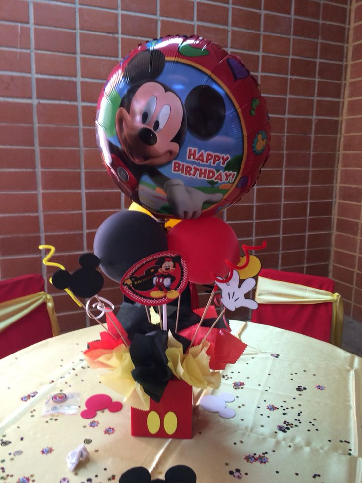 Centros De Mesa Mickey Mouse Charly 5th