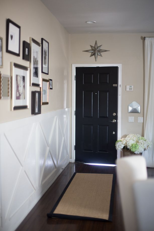 126 best hallway ideas images on pinterest for Hallway door ideas