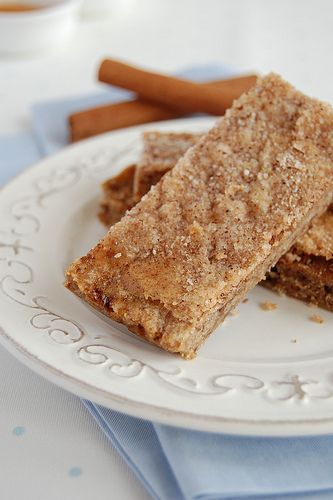 ovaltine thins with cinnamon sugar recipe...