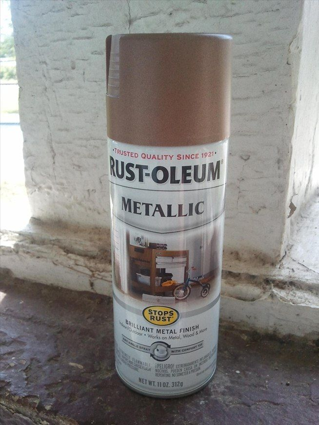 Steampunk spray painting how to make almost anything look for How to prepare metal for painting