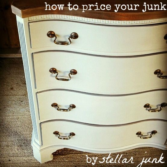 how to (and how not to) price your repainted furniture pieces by stellar junk