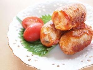 「薄切り肉をボリュームUP マッシュポテトの豚肉巻き」お弁当にもよく入れてます。【楽天レシピ】