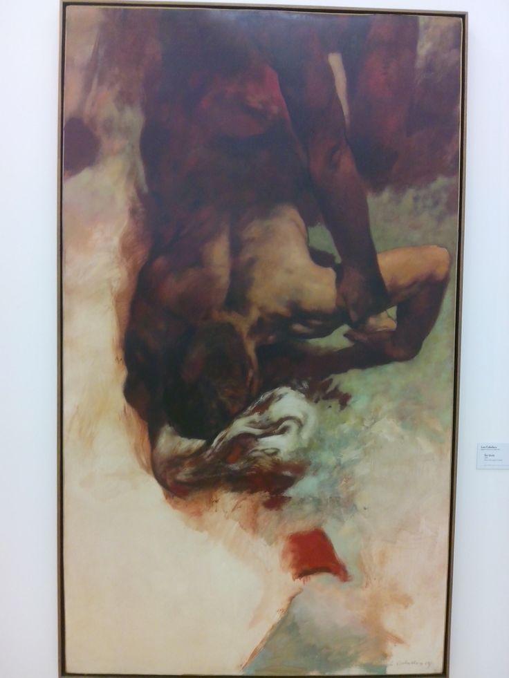 LUIS CABALLERO  BOGOTA (CUNDINAMARCA) 1943-1995 SIN TITULO 1989 OLEO SOBRE PAPEL ENTELADO