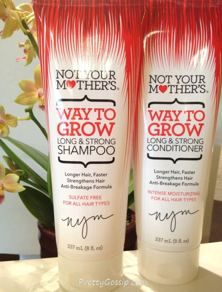 @NotYour Mothers Sulfate Free Shampoo! Click to see why sulfate free is…