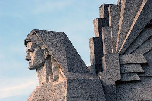 Art Deco Angel, Buenos Aires, Argentina