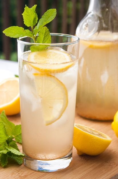 Cinnamon-Lemon Slim Down Drink