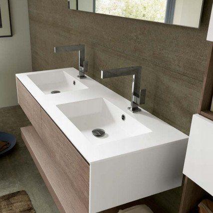 Oltre 25 fantastiche idee su Doppio lavabo da bagno su Pinterest ...