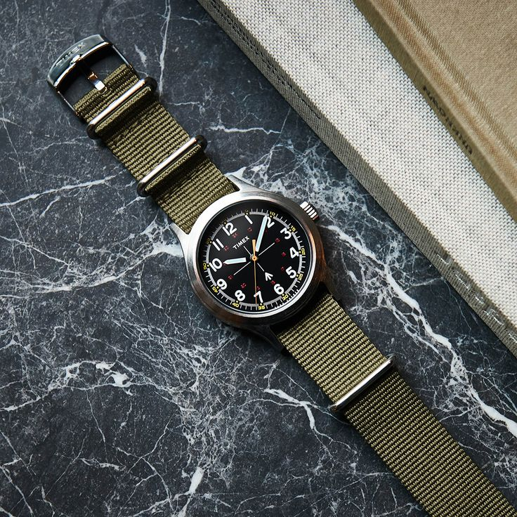 The Military Watch. Another great Todd Snyder / Timex collaboration.