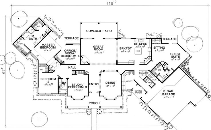 Ross House Floorplan I Love The Guest In Law Suite With