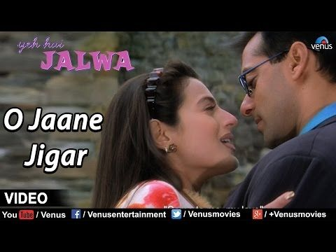 O Jaane Jigar Full Video Song | Yeh Hai Jalwa | Salmaan Khan, Amisha Patel | Bollywood Romantic Song - YouTube
