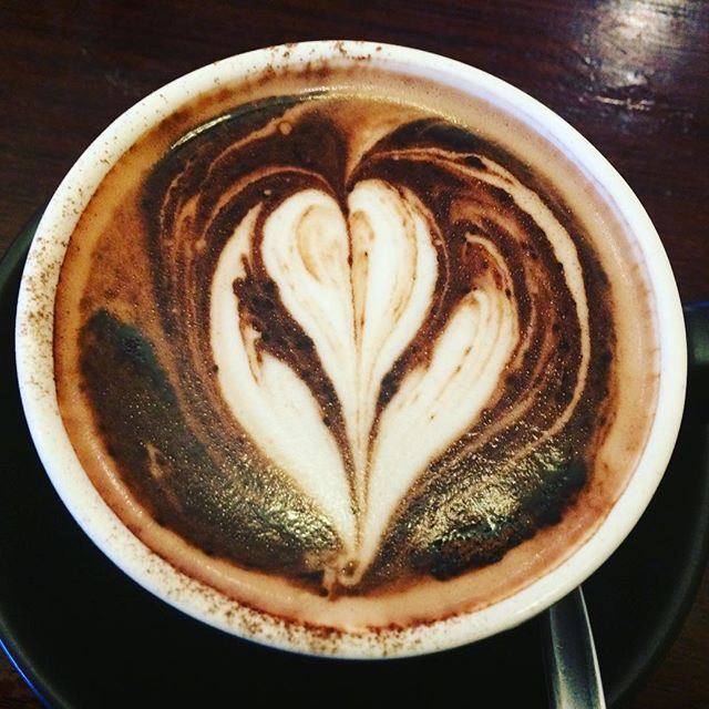 Almond milk hot chocolate. The perfect start to a rainy day. #hotchocolate #almondmilk #winterwarmer #decadence #delicious