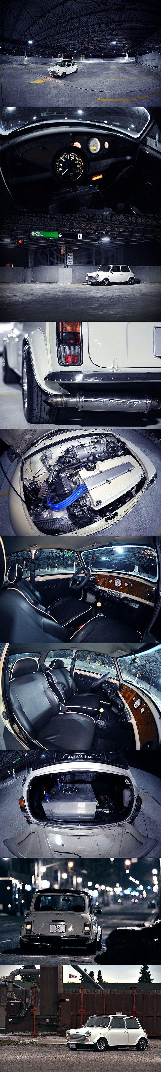 Classic Mini Vtec.