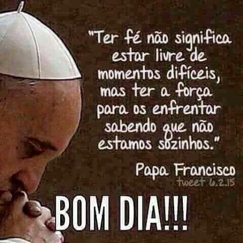 Fé - Papa Francisco
