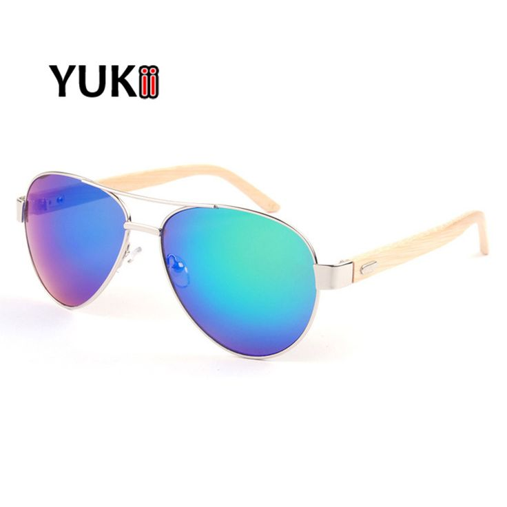 YUKII Pilot Sunglasses Bamboo Woodedn Sun Glasses Glasses Men Women Brand Designer For Outdoor  oculos de sol♦️ SMS - F A S H I O N 💢👉🏿 http://www.sms.hr/products/yukii-pilot-sunglasses-bamboo-woodedn-sun-glasses-glasses-men-women-brand-designer-for-outdoor-oculos-de-sol/ US $4.35