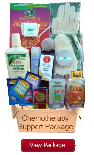 Another chemo care package - this one is to buy, but lots of good ideas for a care package I could make myself.