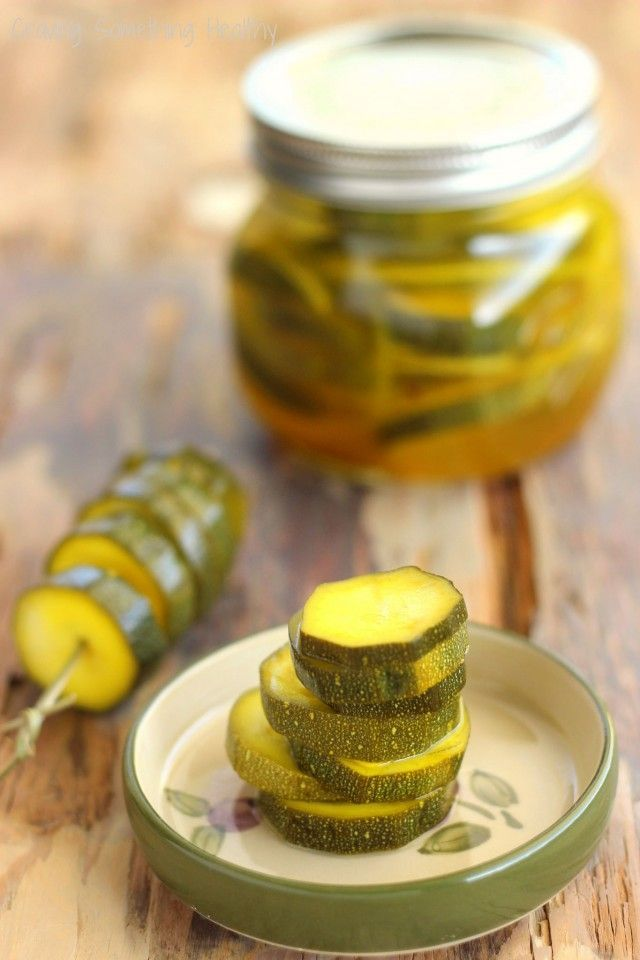 Zesty Zucchini Pickles|Craving Something Healthy Quick and easy - made in the refrigerator!