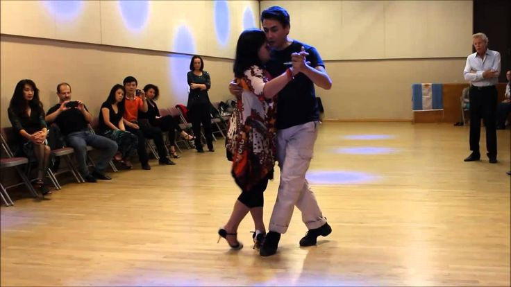 Milonga embelished zigzag steps