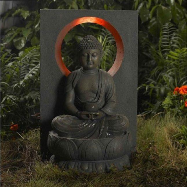 1000 id es propos de fontaine bouddha sur pinterest for Decoration exterieur bouddha