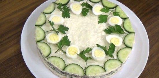 Salad «Speckled Hen»