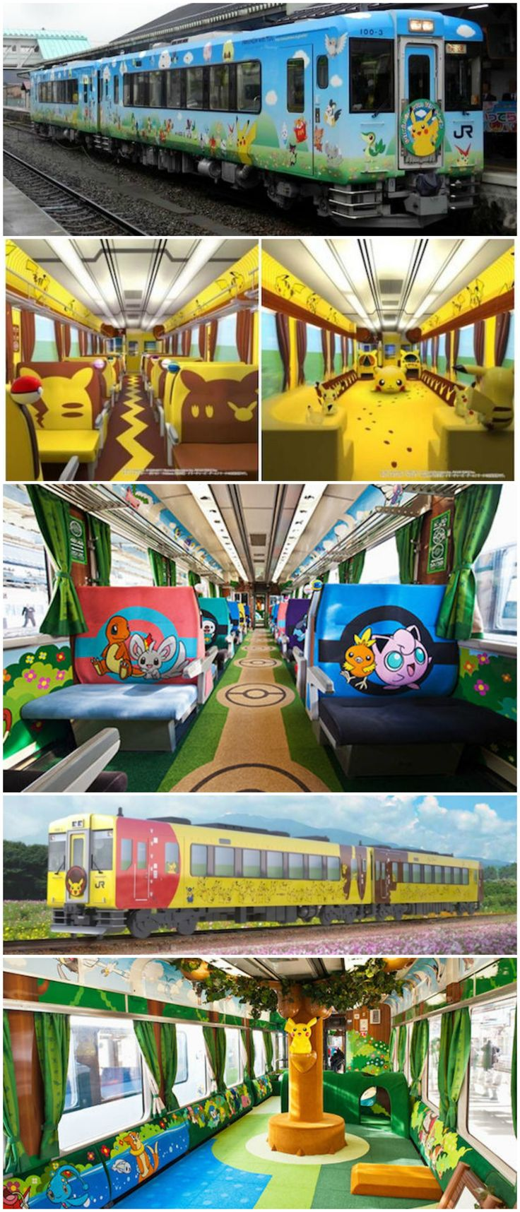 All Aboard Japan's #Pikachu Train