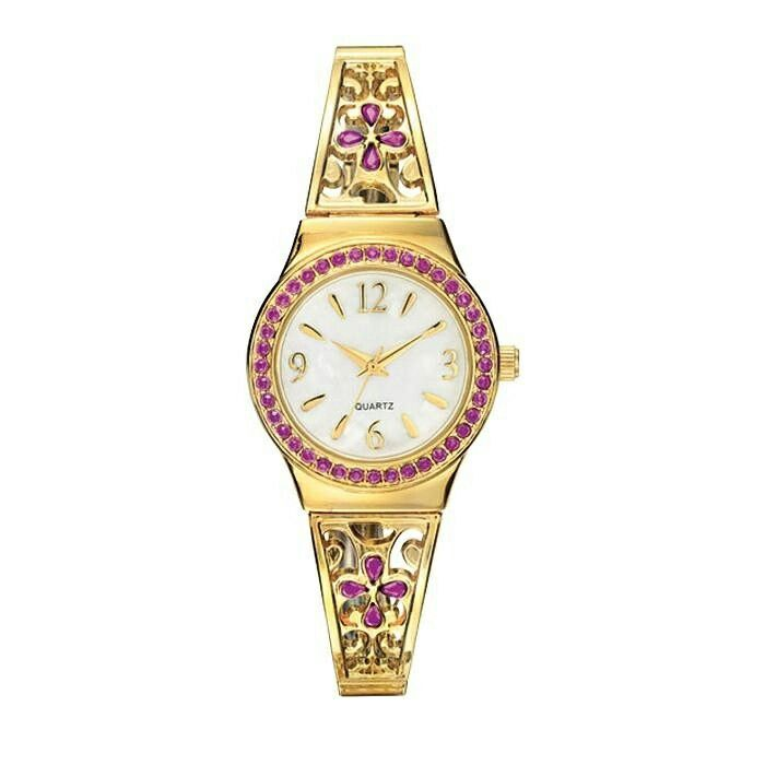 Religious Cross Expansion Watch  A beautiful watch embellished with faux-purple stones around the round face and in the shape of a cross on both sides of the openwork band. https://www.avon.com/product/religious-cross-expansion-watch-58633?rep=slayed  #avon #watches #accessories #fashionblogger #armcandy #fashion #religious #christian #cross #hot #new #joyas  #swag #stylish #instafashion #chic #everydayessentials  #quality #luxury #luxuryblogger #loveit  #photooftheday #fashionista #musthave