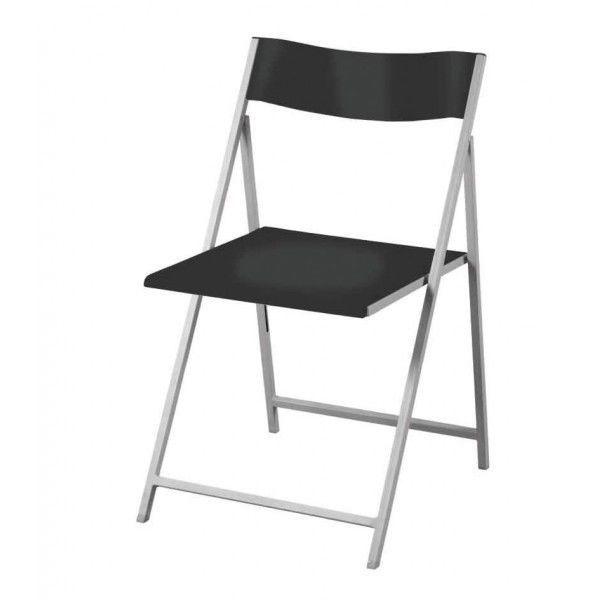 Set quattro sedie nere Slim Piegh NUOVO