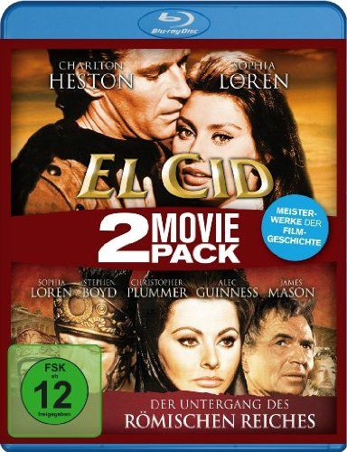 El Cid/Der Untergang des römischen Reiches - 2 Movie Pack [Blu-ray] Koch Media Gmbh - Dvd http://www.amazon.de/dp/B0091A0BSQ/ref=cm_sw_r_pi_dp_cf1Jub11GP3KK