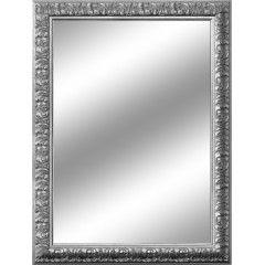 Decorazione-specchio Barocco argento 85 x 115 cm-35753473