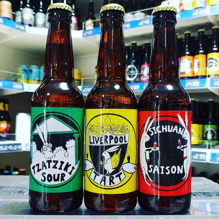 Tzatziki Sour 4.2% Sichuan Saison 7.4% & Liverpool Tart Lemon Gose 4.2% from @madhatterbrewing back in stock