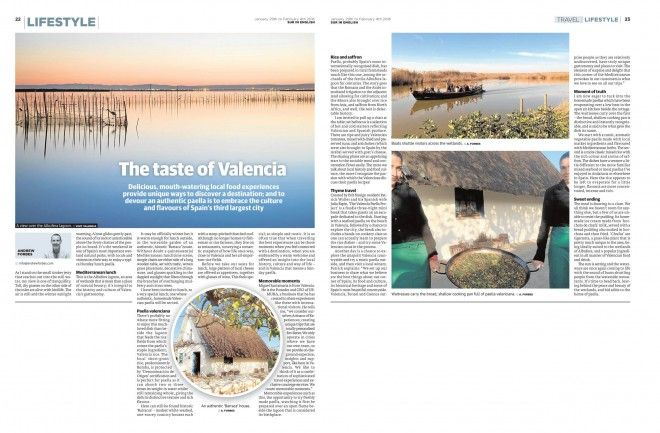 The Taste of Valencia Travel feature by Andrew Forbes #TheLuxuryNavigator #LuxuryTravel  Text copyright www.andrewforbes.com