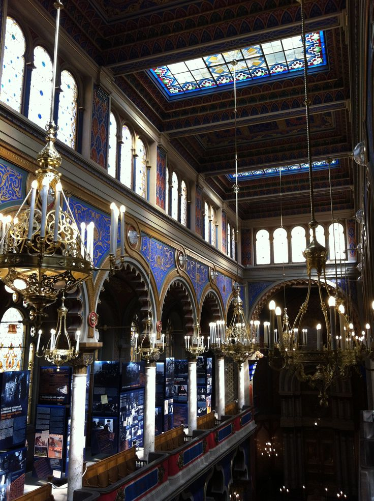 Jubilee Synagogue in Prague is exceptionally beautiful