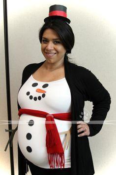 Schneemann Kostüm selber machen | Kostüm Idee zu Weihnachten, Karneval, Halloween & Fasching