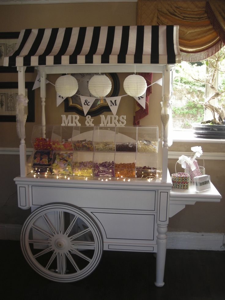 Wedding Sweet Cart