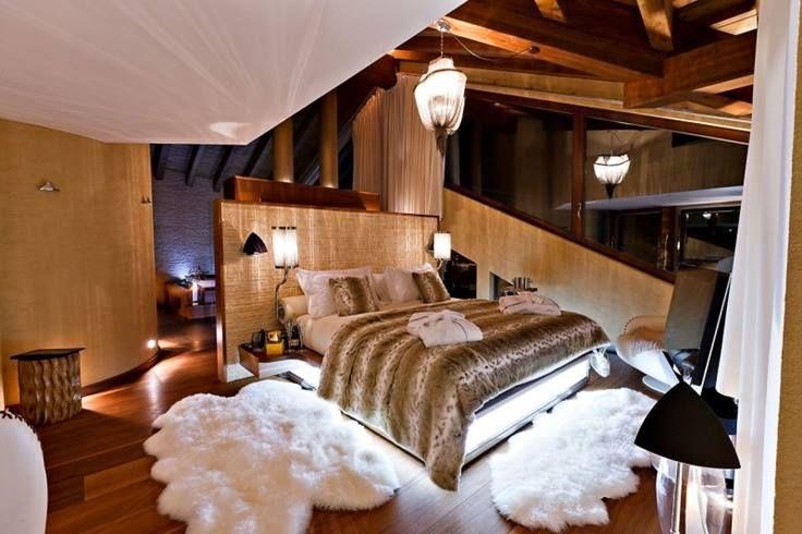 Деревянная спальня? Почему бы нет?