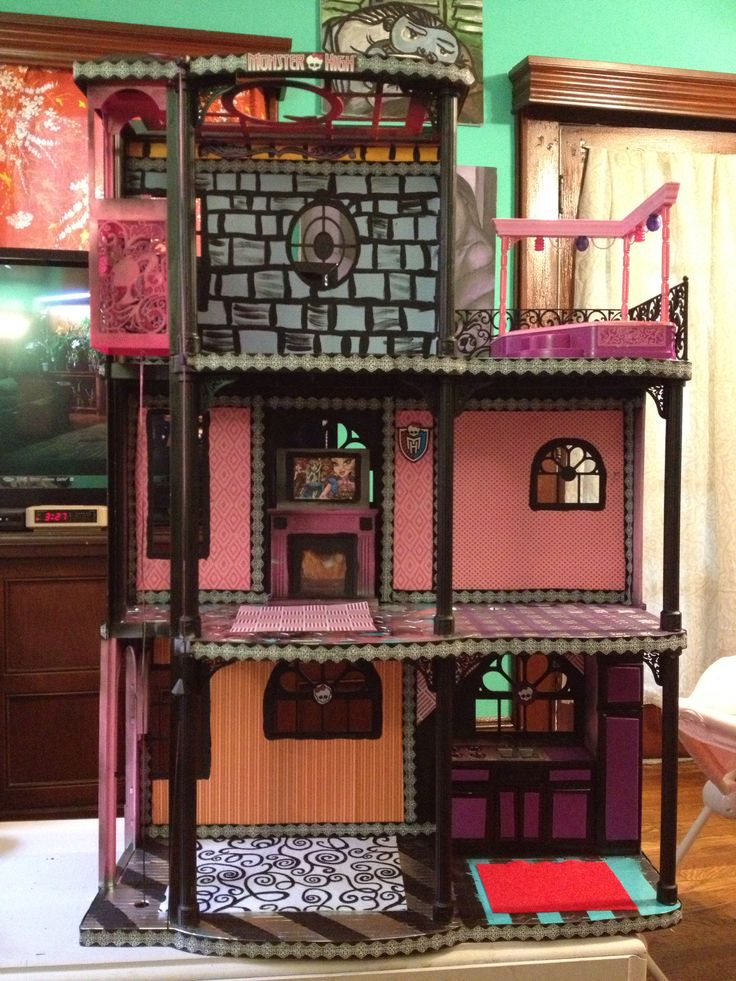 282 Curated Aurora Doll House Ideas By Stardust32484 Barbie House Monster High And Custom Dolls