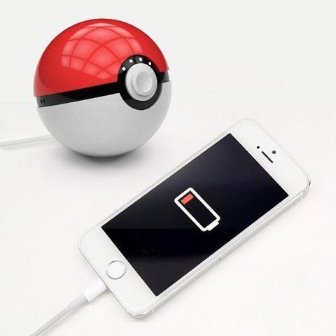 Pokemon Go Pokeball PowerBank 12000mah LED Light