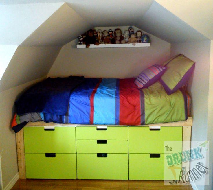 40 best chambre d 39 enfant images on pinterest bedrooms for Ikea chambre hacks
