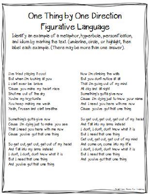 686 Best Figurative Language Images On Pinterest Figurative