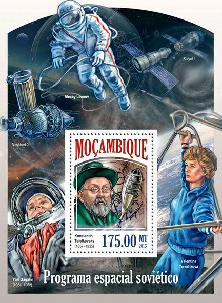 MOZ 13524 bSoviet space program, (Konstantin Tsiolkovsky).