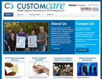 Professional Wordpress Website Design - Custom Care