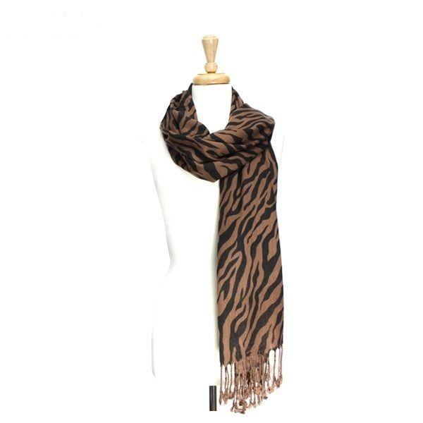 ClassyShoe.Com - Zebra Soft Scarf - Brown, $14.95 (http://www.classyshoe.com/zebra-soft-scarf-brown/)