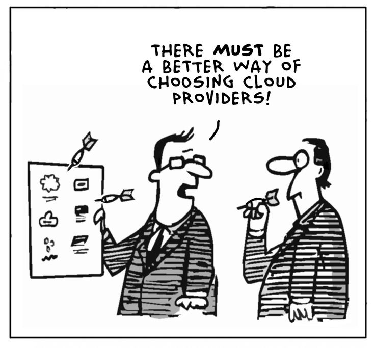 """There must be a better way of choosing cloud providers"" -- Yes, there is!!! www.getapp.com ;-) #cloud #apps"