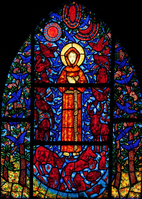 Beuzeville - Saint-Helier - Saint Francis Window by Stan Parry, via Flickr