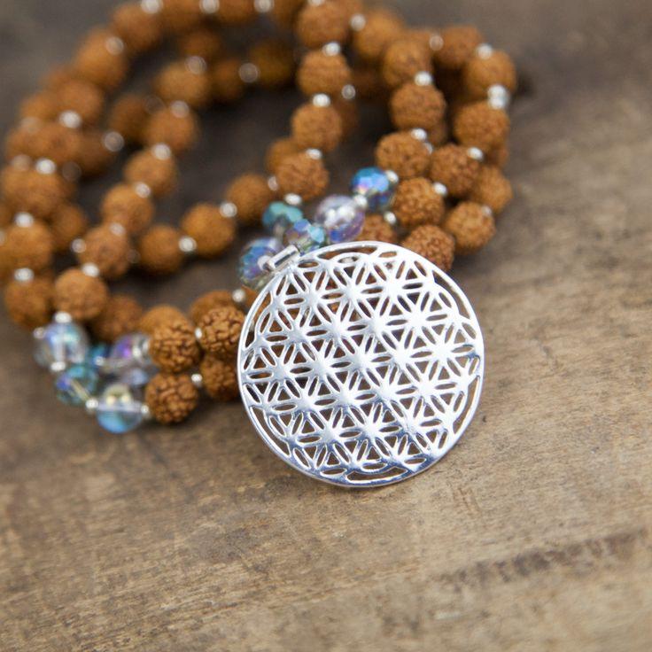 Healing Flower of Life Mala
