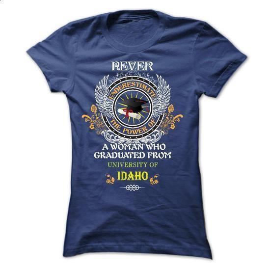 University of Idaho - #first tee #college sweatshirts. SIMILAR ITEMS => https://www.sunfrog.com/LifeStyle/University-of-Idaho-Ladies.html?60505