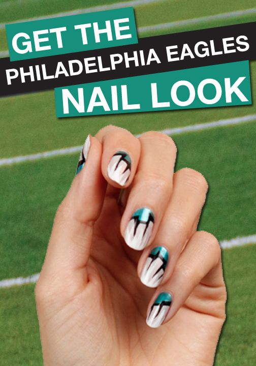 Go Philadelphia! Click to find your favorite team's FANICURE!