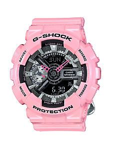 G-Shock Women's Light Pink Ana-Digi G-Shock S Series Watch - Bel