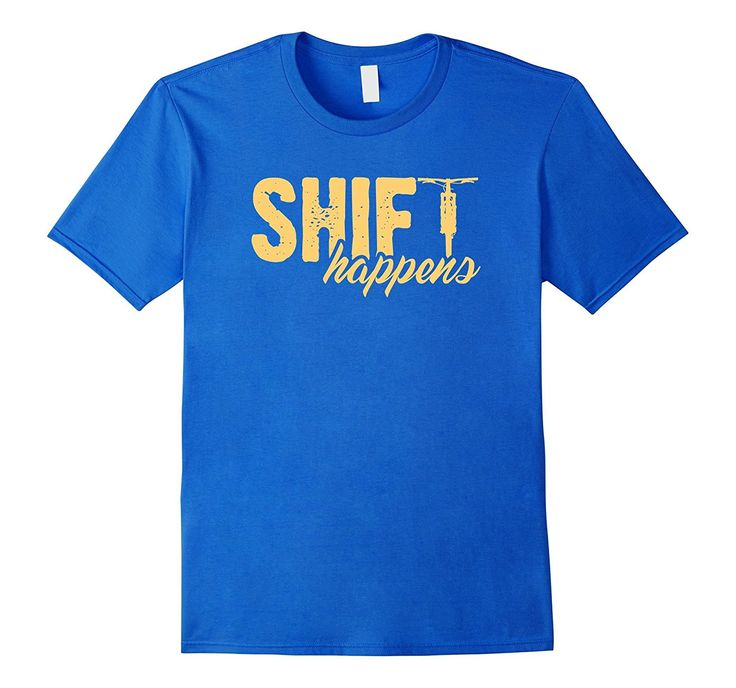 Shift Happens Mountain Bike T shirt Fat Bike Shirt